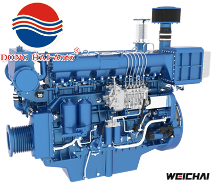 MARINE MEDIUM-SPEED ENGINE WHM6160