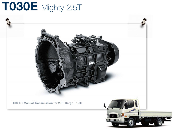 T030E - Mighty 2.5 tấn