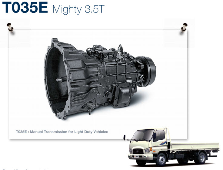 T035E - Mighty 3.5 tấn
